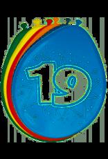 FOLAT 19 jaar ballonnen 8 stuks