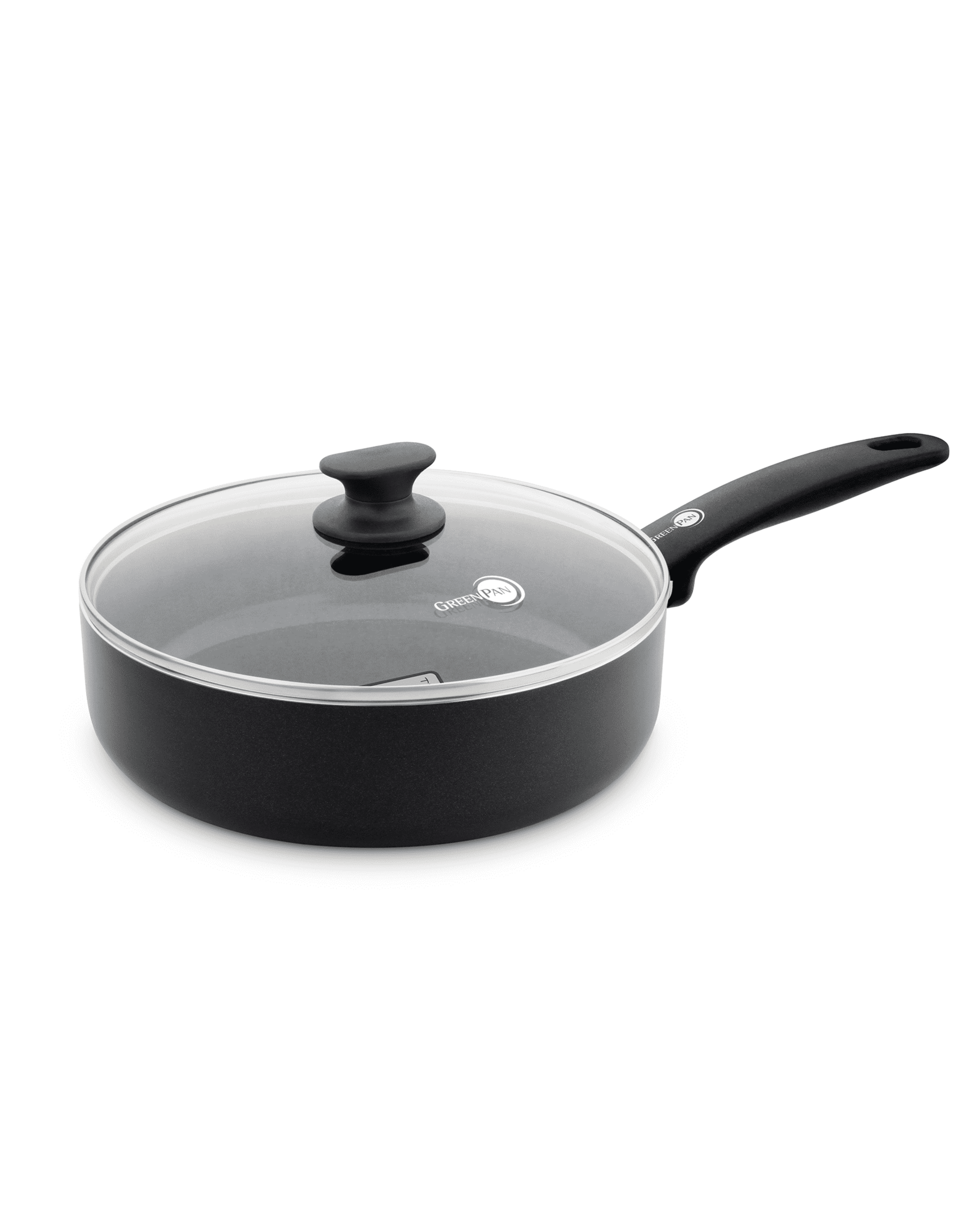 GREEN PAN Hapjespan ZWART SAUTEUSE 24 CM CAMBRIDGE INFINITY