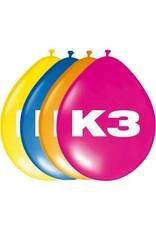 BALLONNEEN K3 8 STUKS