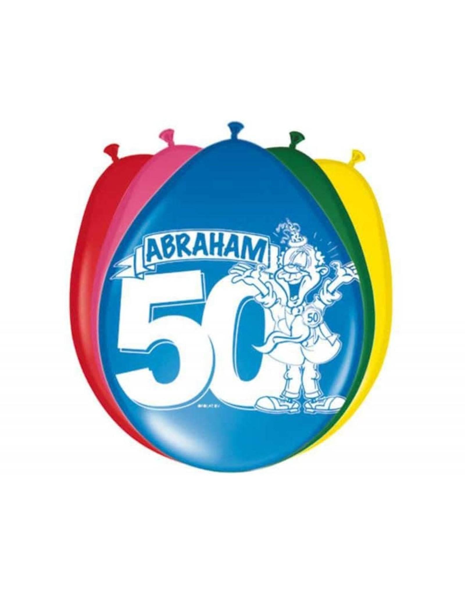 BALLONNEN 30CM ABRAHAM 8STKS