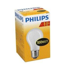 PHILIPS Philips gloeilamp Standard mat 100W E27 230V A55