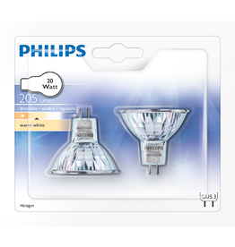 PHILIPS Philips Halogeenlamp - Standaard Reflector - 20W -
