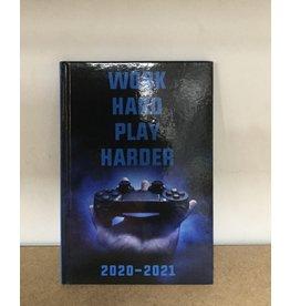 AGENDA HK WORK HARD PLAY HARDER A5 20-21