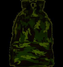 Verhaak rugzak camouflage jongens 42,5 x 30 cm nylon groen