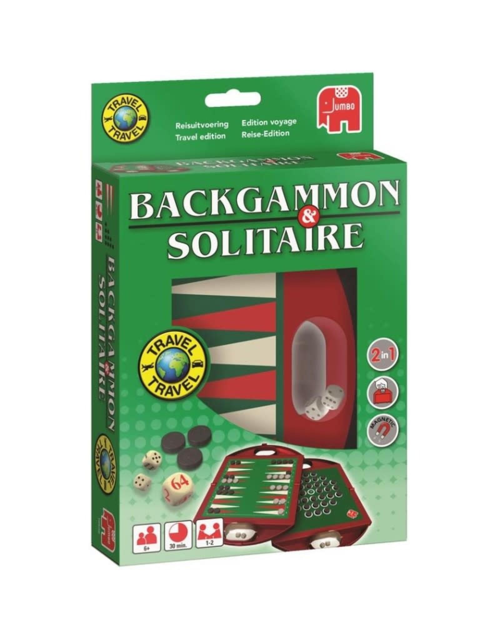Backgammon & Solitaire - Reisspel