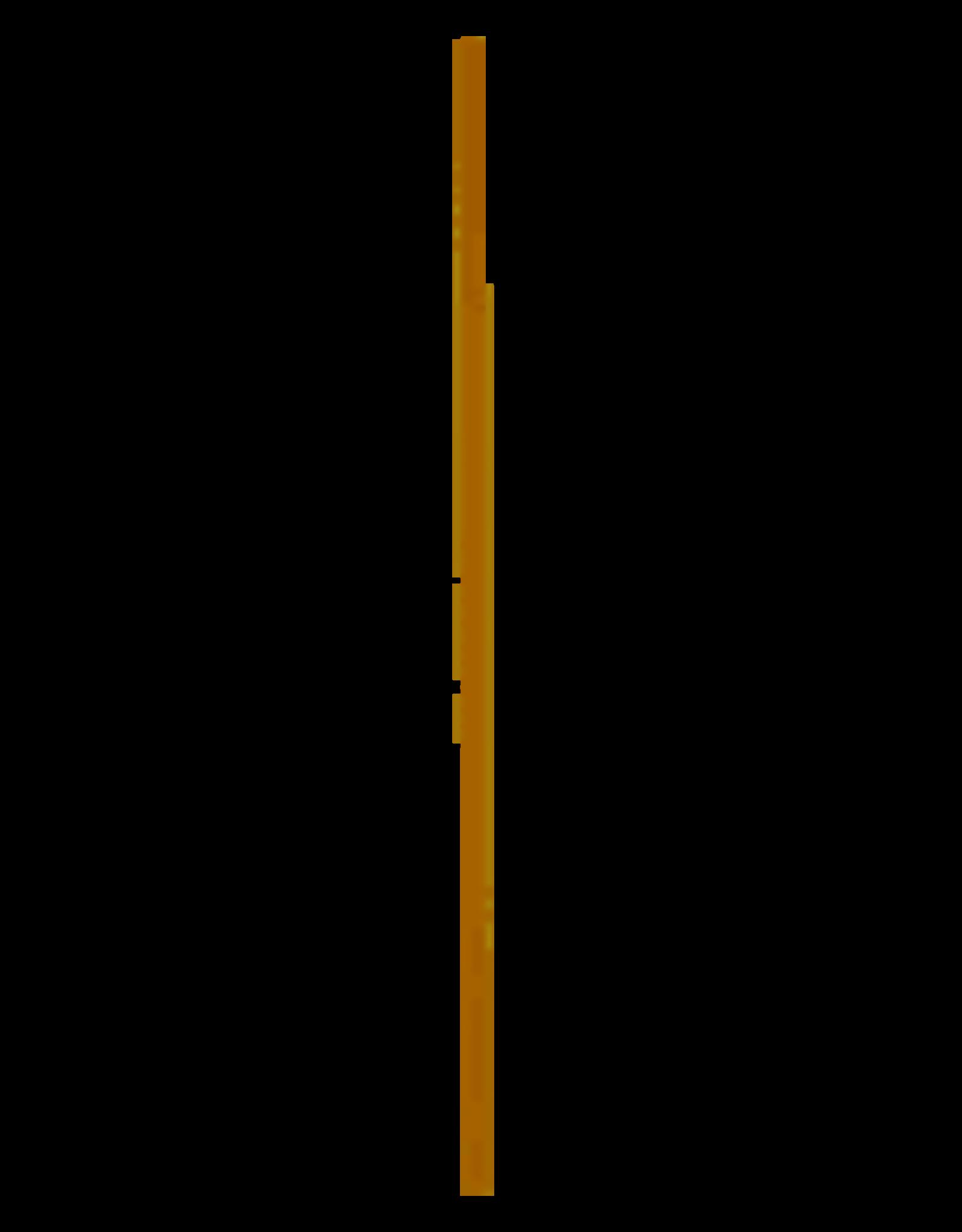 BETRA Betra Steel Hout Met Gat 24mm. 140 CM