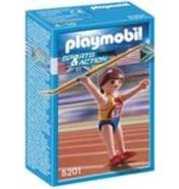 PLAYMOBIL SPEERWWERPSTER 5201