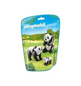 PLAYMOBIL PANDA'S M/BABY 6652