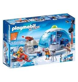 PLAYMOBIL PLAYMOBIL Hoofdkwartier Poolexpeditie - 9055