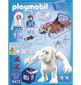 PLAYMOBIL PLAYMOBIL Magic speelset Ahaka met slee 9471