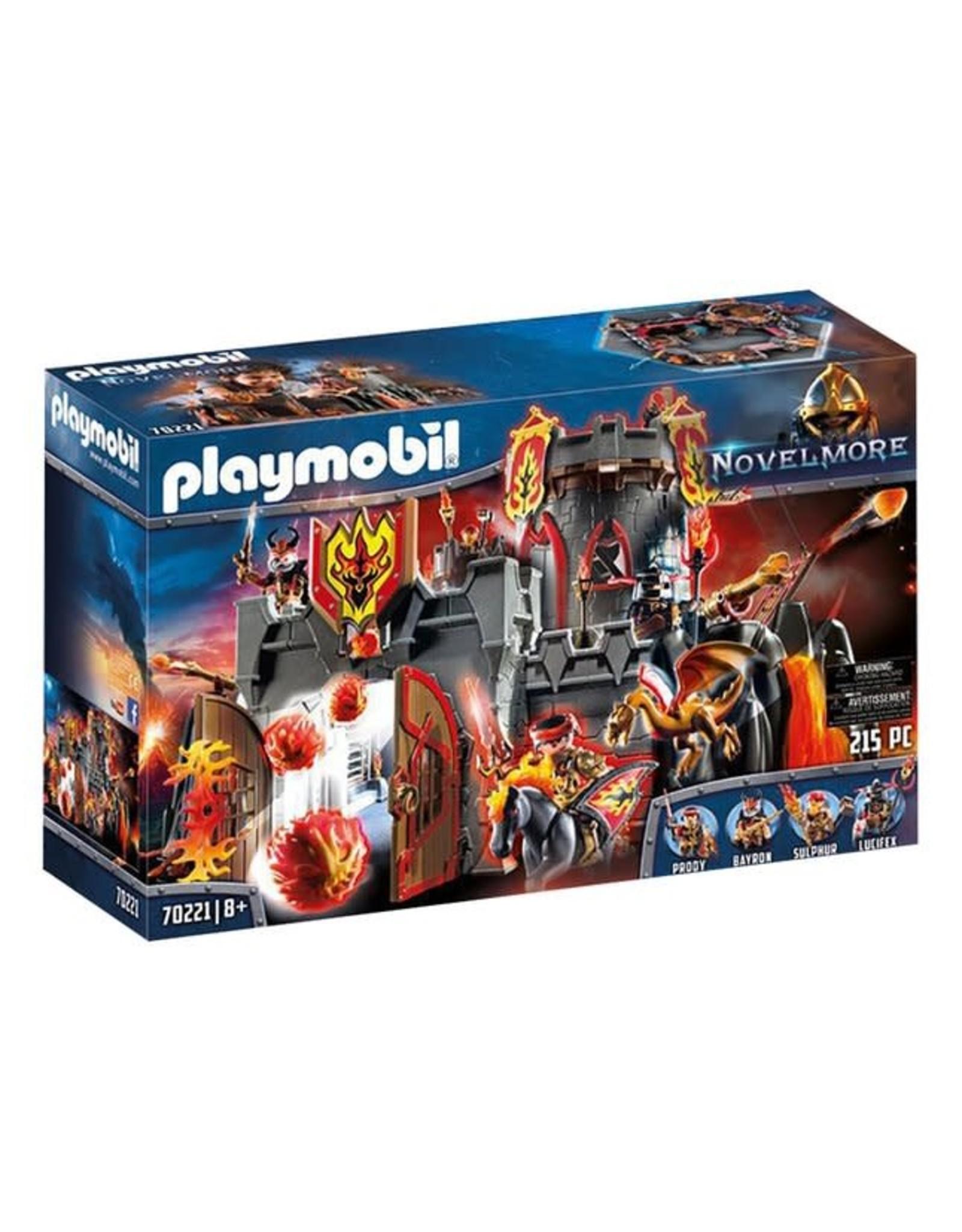 PLAYMOBIL Playmobil - Burnham Raiders Fortress (70221)