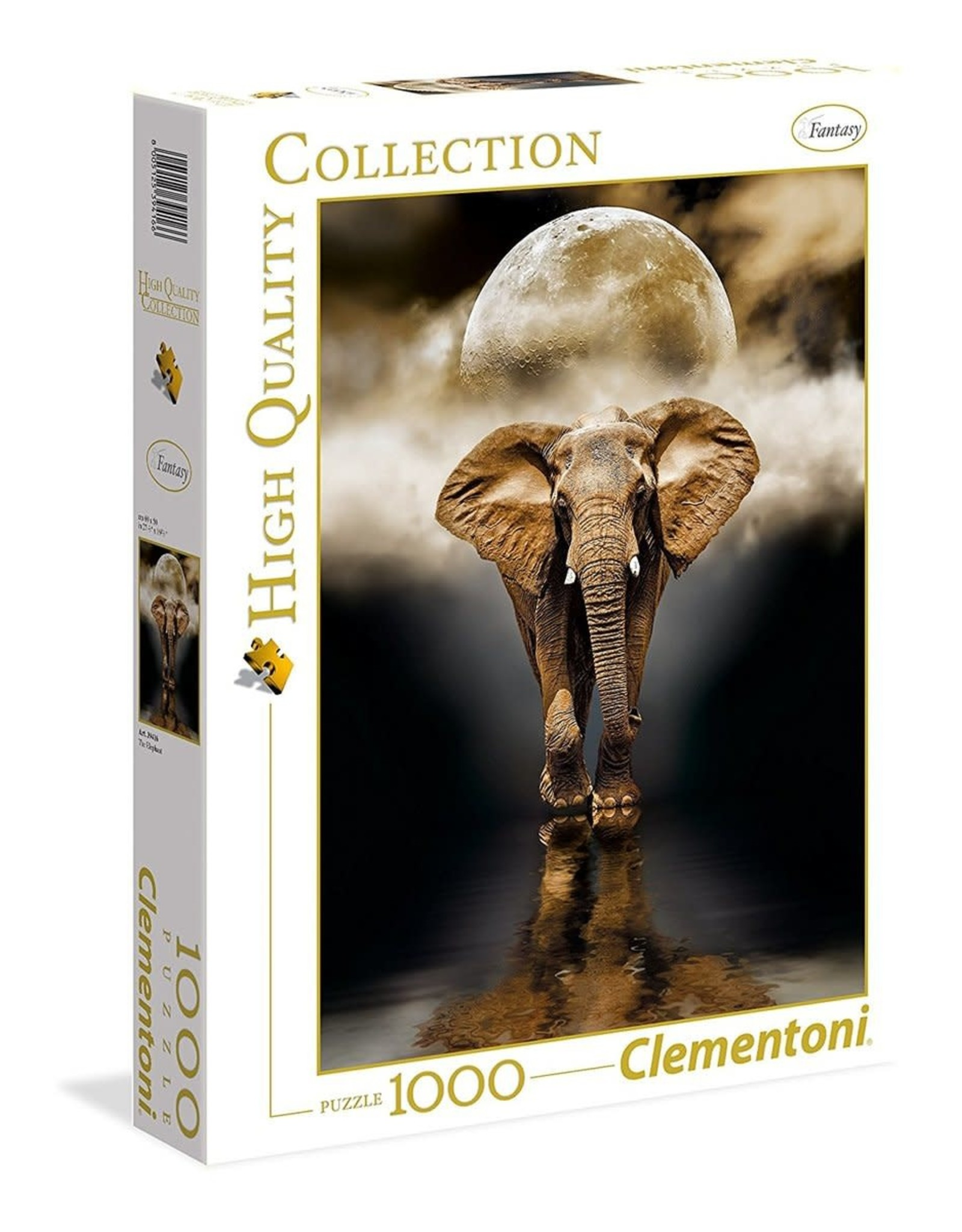 Clementoni puzzel THE ELEPHANT 1000ST
