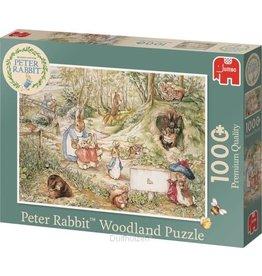 JUMBO Pieter Konijn Woodland Puzzel 1000 Stukjes