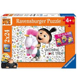 RAVENSBURGER Ravensburger Despicable Me 3 Agnes en de Minions -