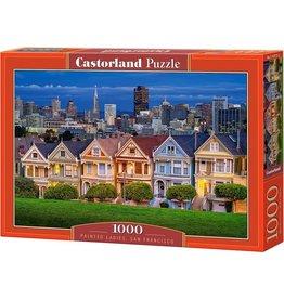 CASTORLAND PUZZEL Puzzel Painted Ladies, San Francisco