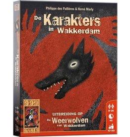 Weerwolven Uitbreiding - De karakters in Wakkerdam
