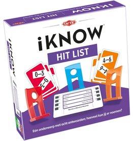 TICTAC Tactic gezelschapsspel iKNOW Hit List