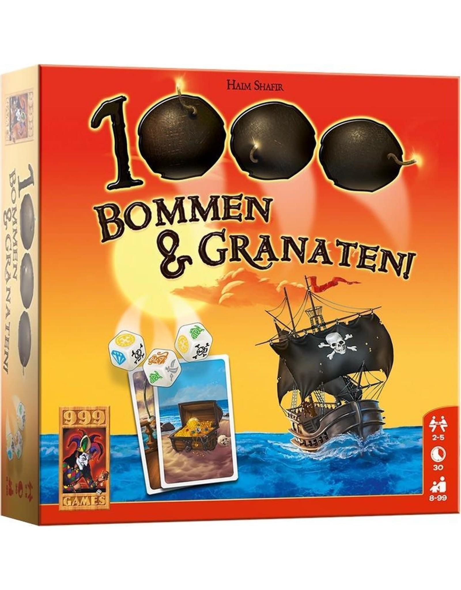999 GAMES 1000 Bommen & Granaten! Dobbelspel