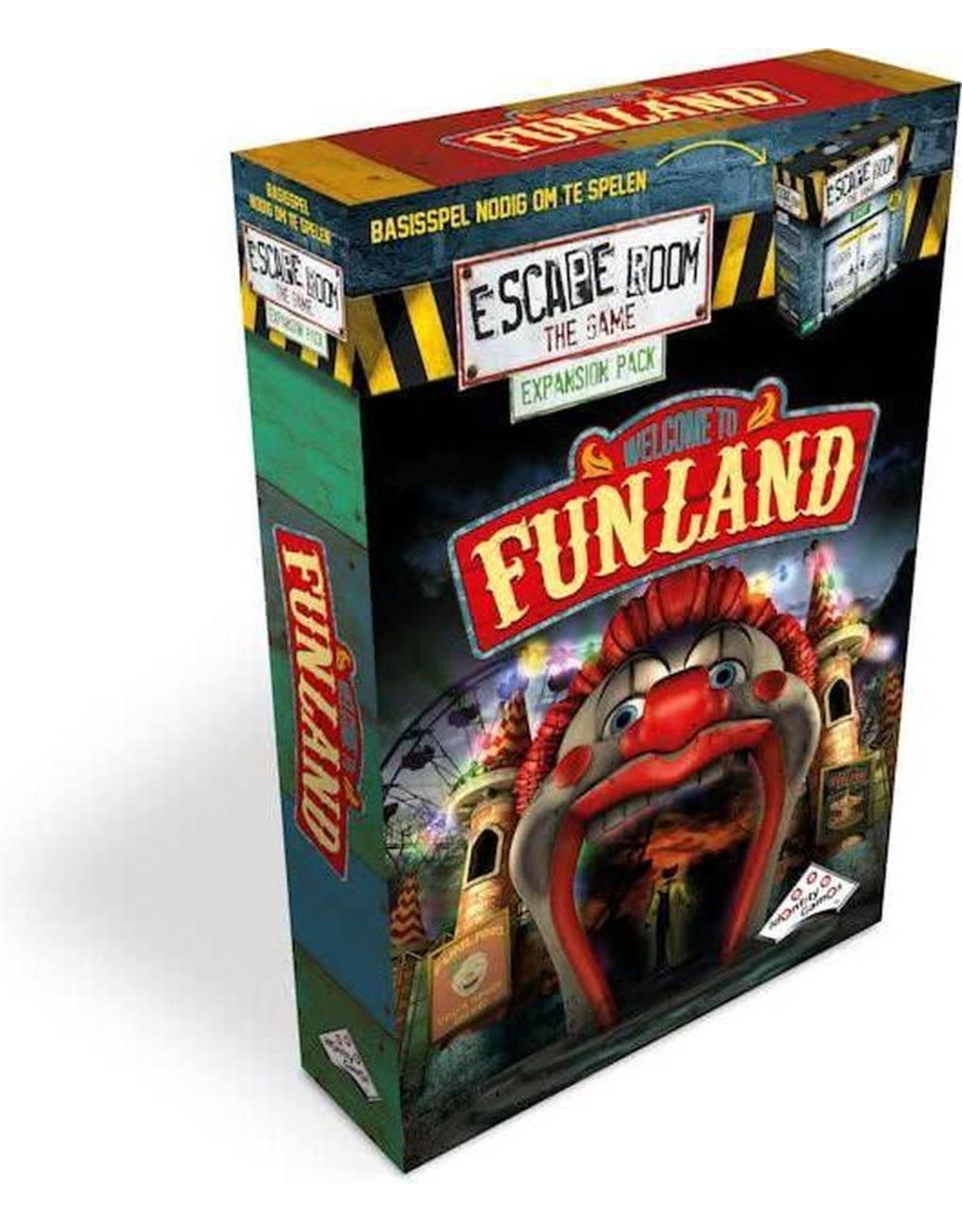 Escape Room: The Game uitbreidingsset Welcome to F