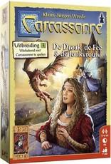 999 GAMES Carcassonne: De Draak, de Fee en de Jonkvrouw Bord