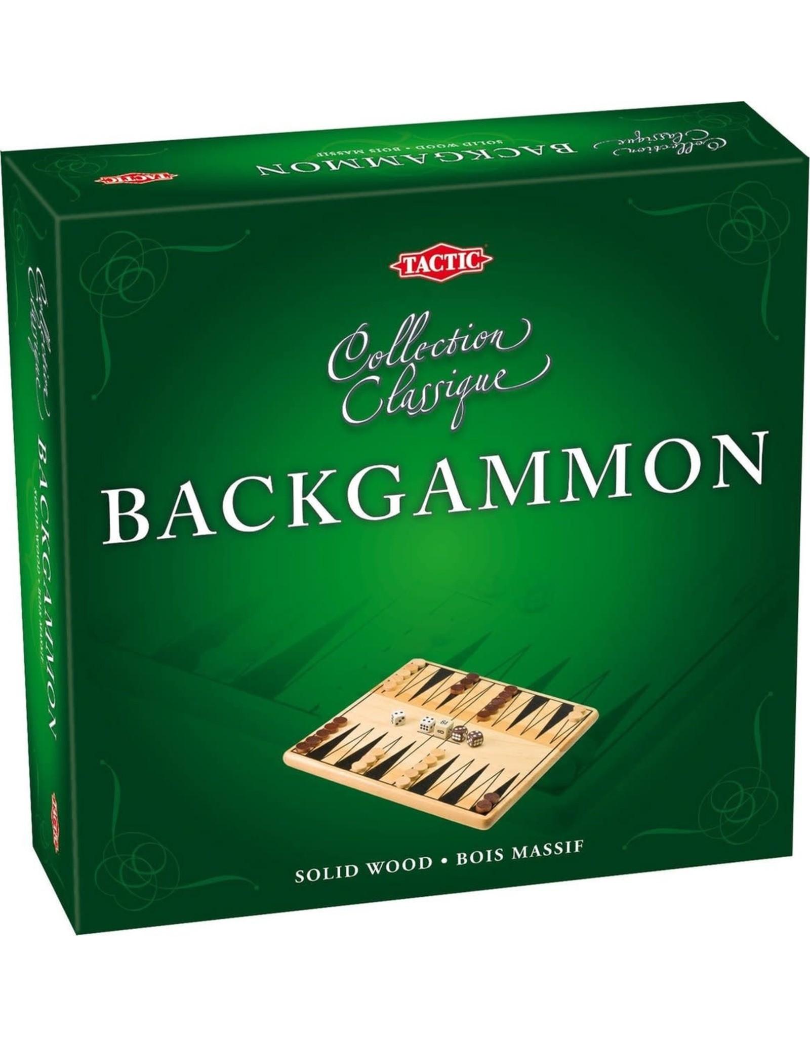 Backgammon Hout - Gezelschapsspel
