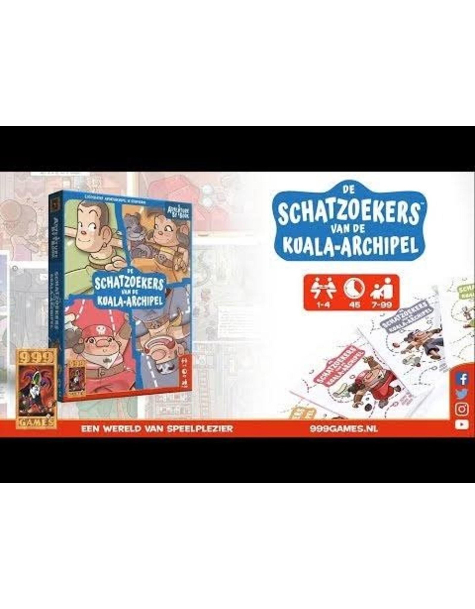999 Games Adventure by Book - de Schatzoekers van de Kuala-archipel