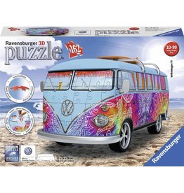 Ravensburger Volkswagen bus Indian Summer - 3D puzzel - 162 stukjes