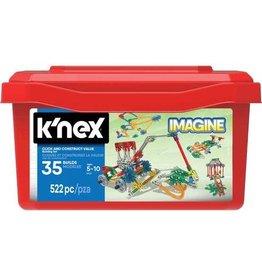 KNEX K\NEX Click en Construct Value bouwset 522-delig -