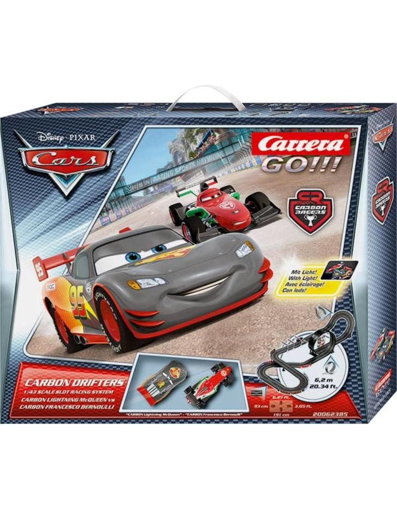 Carrera GO!!! Cars Carbon Drifters - Racebaan