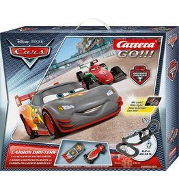 DISNEY Carrera GO!!! Cars Carbon Drifters - Racebaan