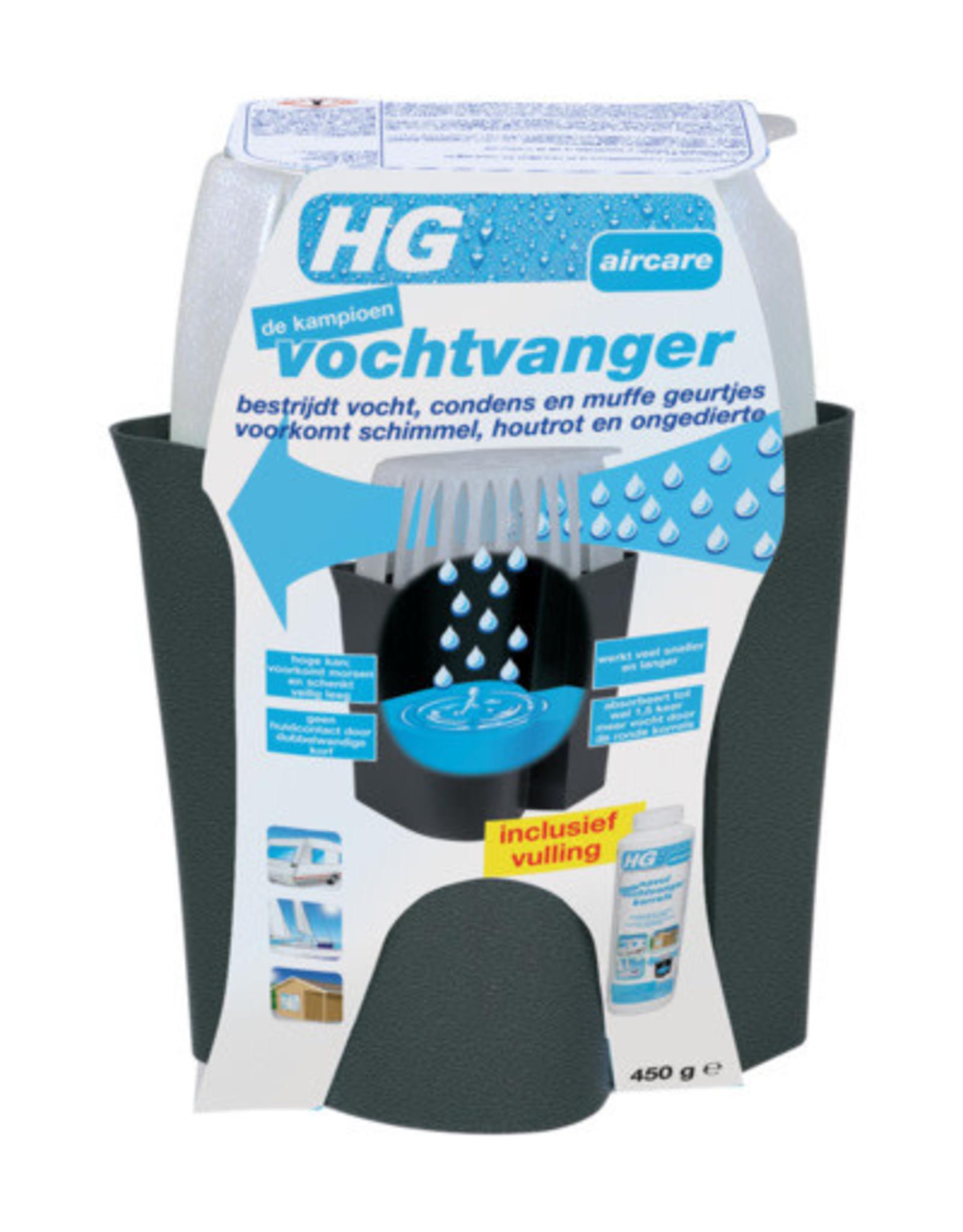 HG Vochtvanger - 450 ml - Zwart