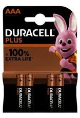 DURACELL Batterij Duracell plus power duralock AAA batterij 4 stuks