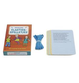 Superleuke elastiekspelletjes met elastiek in de doos!