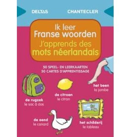 SPEEL EN LEERKAARTEN-IK LEER FRANSE WOORDEN