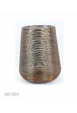 MANSION Bloempot Pillar Holder Rainbow Copper 20x20x25.5 cm