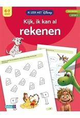 DISNEY IK LEER MET-KIJK IK KAN AL REKENEN 6-7J