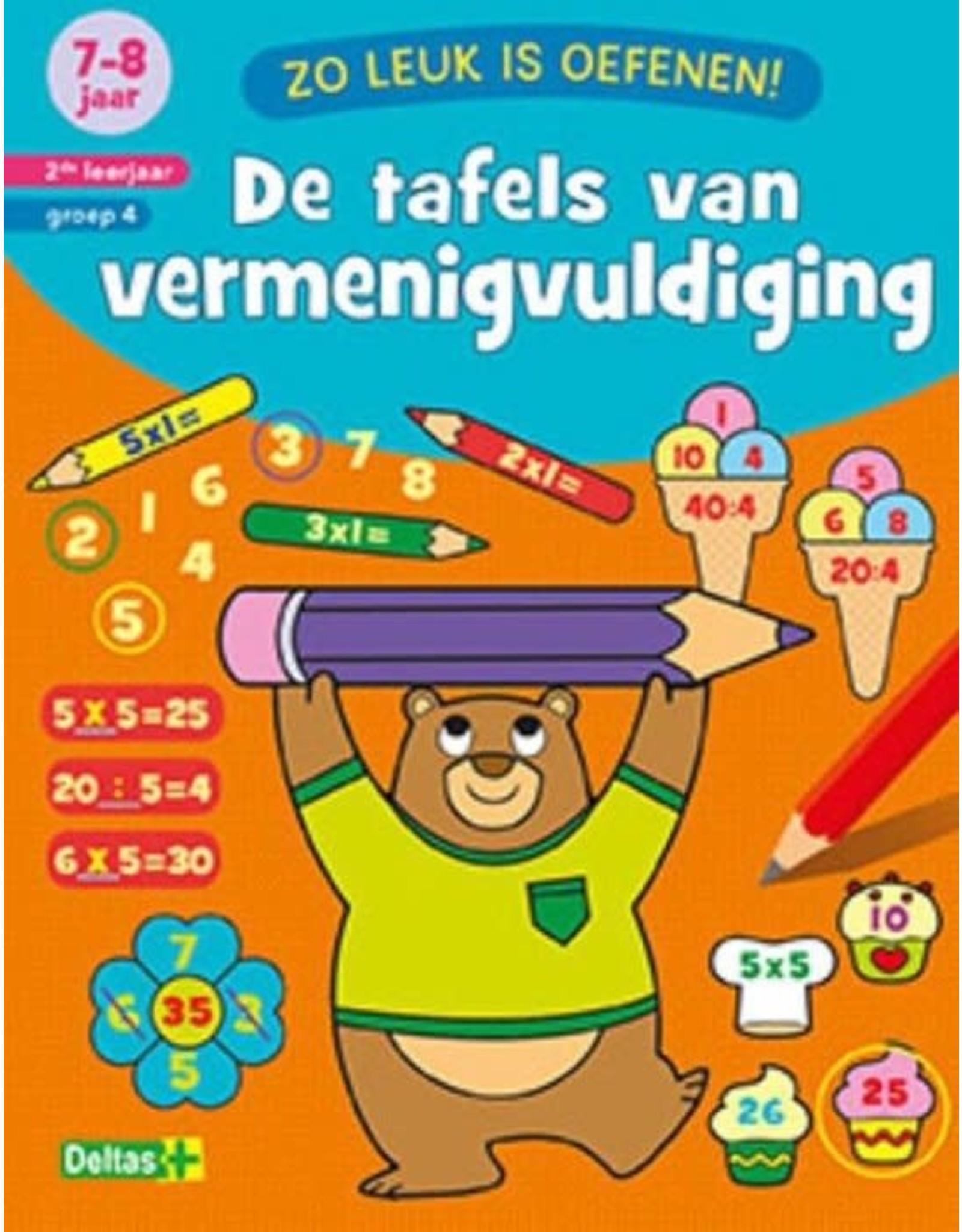 DE TAFELS VAN VERMENIGVULDIGING