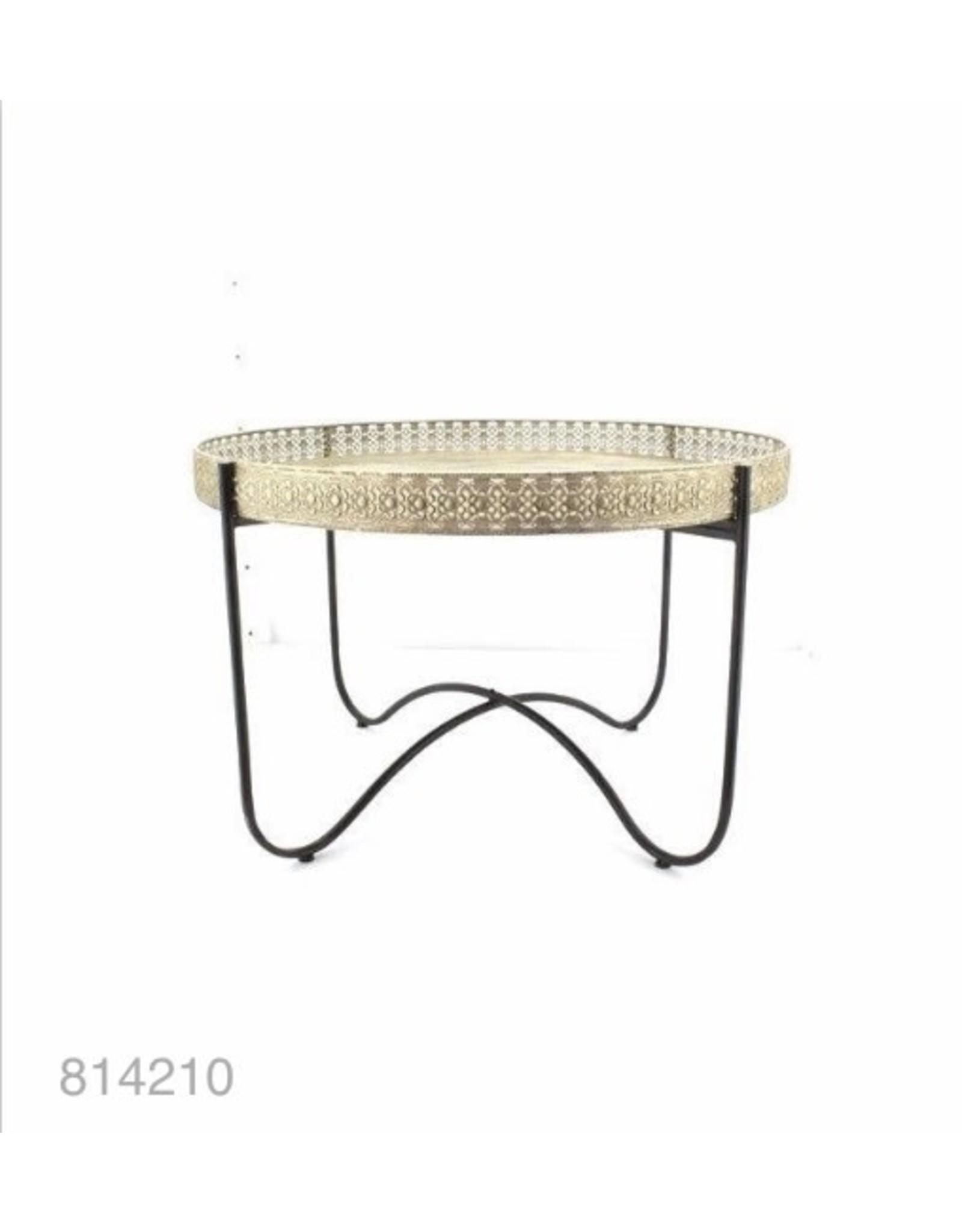 MANSION Gold Metal Table 87*87*57