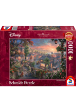 999 GAMES Disney, Lady and the Tramp, 1000 stukjes - Puzzel