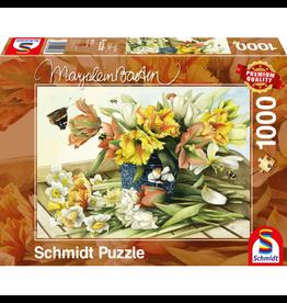 SCHMIDT Lente Bloemen, 1000 stukjes - Puzzel