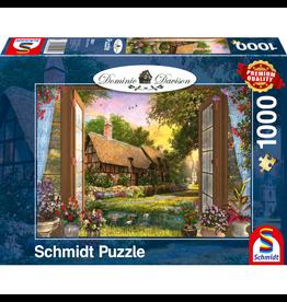 SCHMIDT Uitzicht op de Cottage, 1000 stukjes - Puzzel SCHMIDT