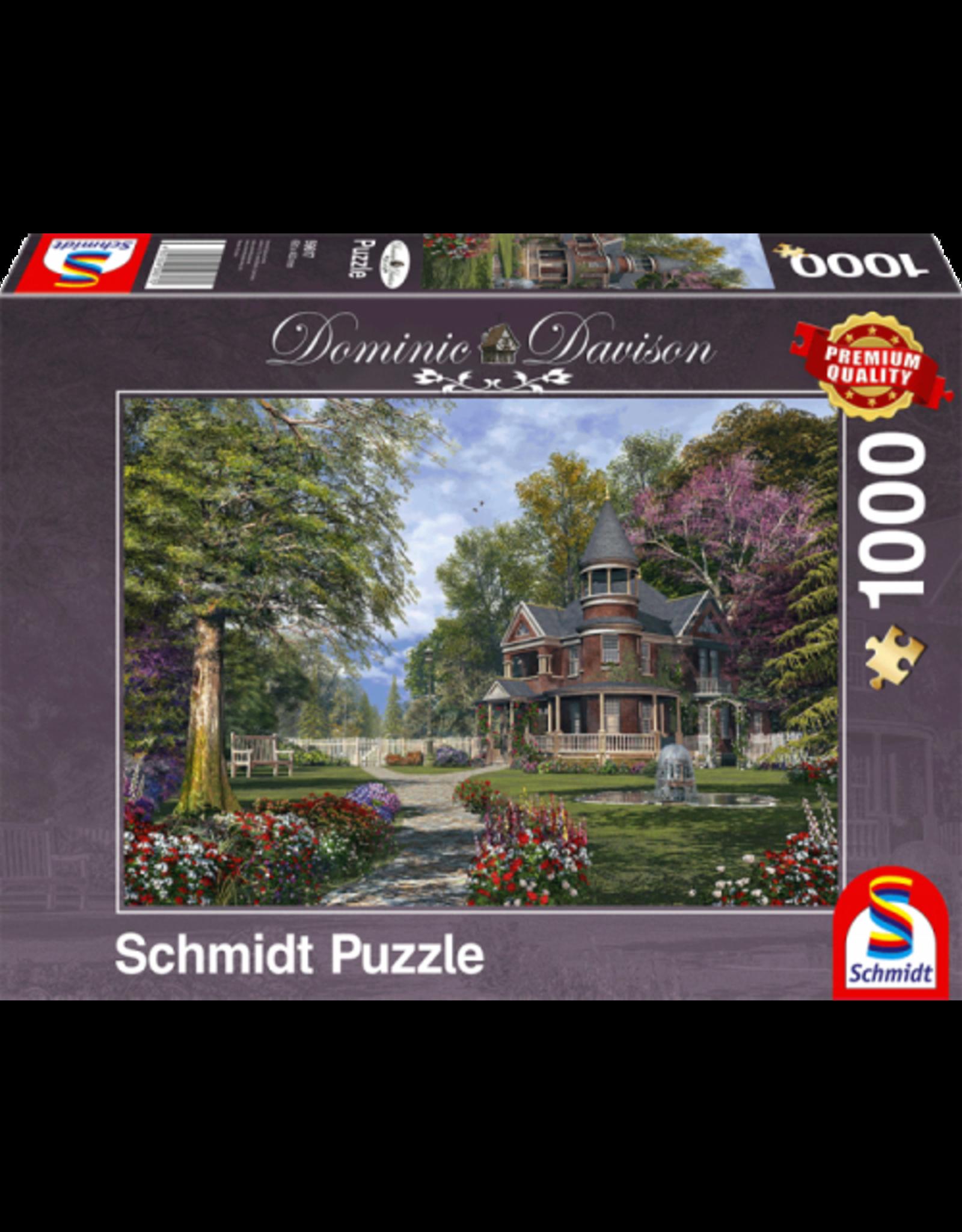 Herenhuis met toren, 1000 stukjes - Puzzel