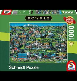 SCHMIDT Midway, 1000 stukjes - Puzzel