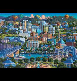 SCHMIDT Chattanoga, 1000 stukjes - Puzzel