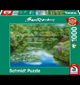 SCHMIDT Waterlely Vijver, 1000 stukjes - Puzzel
