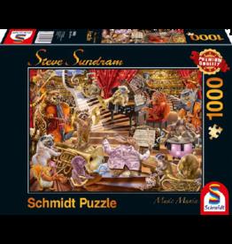 SCHMIDT Music Mania, 1000 stukjes - Puzzel SCHMIDT