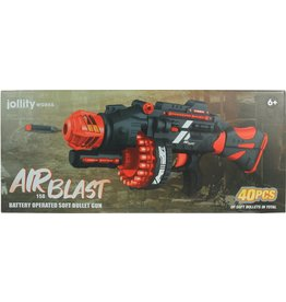 JOLLITY Jollity Works - Airblast 158 - Black and Red