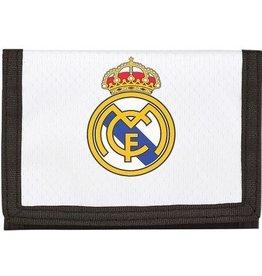 Real Madrid - Portemonnee 12,5 x 9,5 cm - Wit