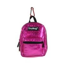 JOLLITY Tiny Bag Shiny Pink glitter rugzak