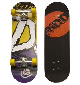 "RIDD RiDD Skateboard 28"" yellow/purple"